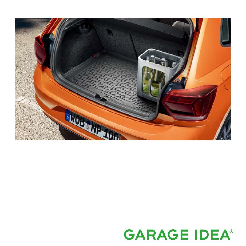 フォルクスワーゲン Volkswagen 純正アクセサリー New Polo【ポロ】ラゲージインレー【2G0061160】ABA-AWCHZ ABA-AWCZP パーツ