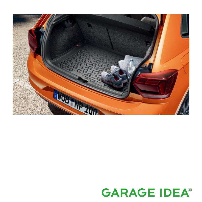 フォルクスワーゲン Volkswagen 純正アクセサリー New Polo【ポロ】ラゲージトレー【2G0061161】ABA-AWCHZ ABA-AWCZP パーツ
