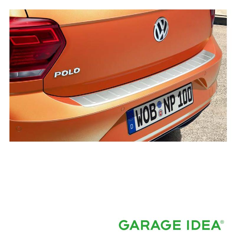 フォルクスワーゲン Volkswagen 純正アクセサリー New Polo【ポロ】リヤバンパープレート【2G0061195】ABA-AWCHZ ABA-AWCZP パーツ