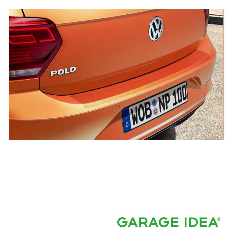 フォルクスワーゲン Volkswagen 純正アクセサリー New Polo【ポロ】リヤバンパープロテクションフィルム【2G0061197】ABA-AWCHZ ABA-AWCZP パーツ