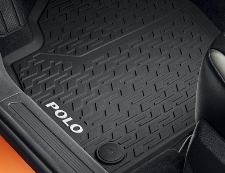 フォルクスワーゲン Volkswagen 純正アクセサリー New Polo【ポロ】ラバーマット・リヤ【2G006151282V】ABA-AWCHZ ABA-AWCZP パーツ