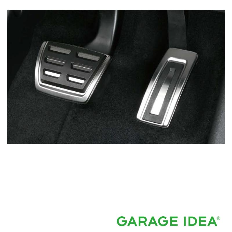 フォルクスワーゲン Volkswagen 純正アクセサリー New Polo【ポロ】ペダルカバーセット【5G2064205】ABA-AWCHZ ABA-AWCZP パーツ