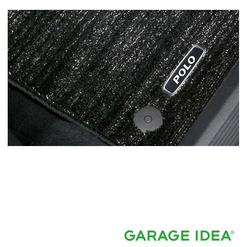 適用タイプ要確認 フォルクスワーゲン New Polo純正アクセサリー Volkswagen 爆売りセール開催中 純正アクセサリー Polo ABA-AWCHZ J2GBM5R18PCL ポロ 定番キャンバス ABA-AWCZP フロアマット プレミアムクリーン パーツ