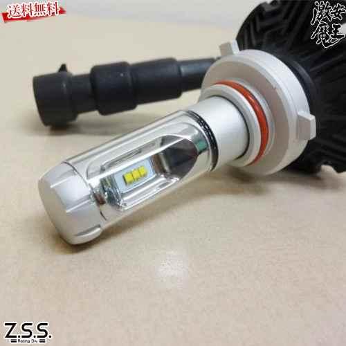 ●あす楽 ☆Z.S.S. LED HEAD LIGHT ヘッドライト フォグランプ バルブ 6000k 6000lm HB3 HB4 車検対応 ZSS