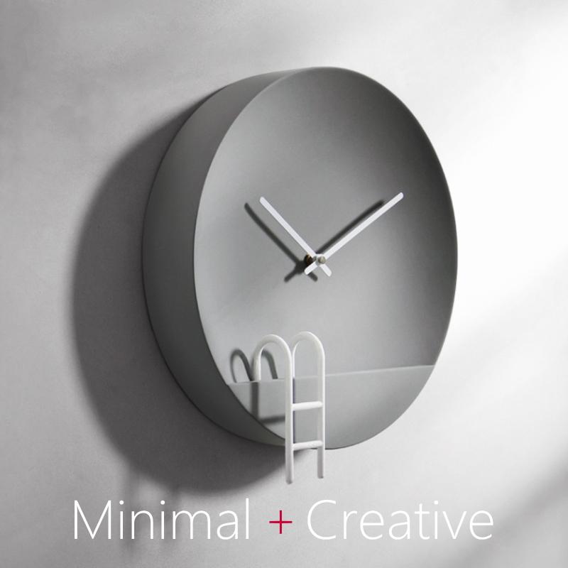 【スーパーセール開催中】【最大50%OFF】GMS02146 送料無料 スタイリッシュ おしゃれ アートクロック デザイン デザイン 北欧 壁掛け スマート シンプル ミニマル クリエイティブ 石膏製 掛け時計 型番:GMS02146