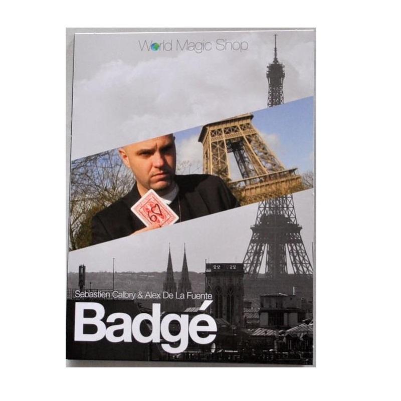 キャッシュレスポイント還元対象/【手品 マジック】 Badge (DVD and Gimmick) by Alexis De La Fuente and Sebastien Calbry