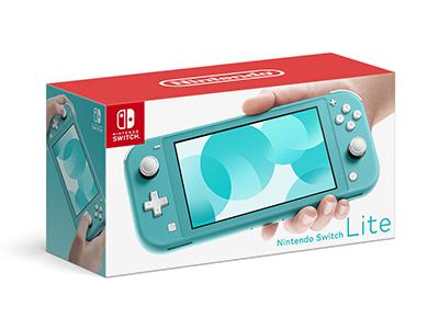 Nintendo 並行輸入品 希少 Switch Lite ターコイズ 5-7営業日頃に出荷