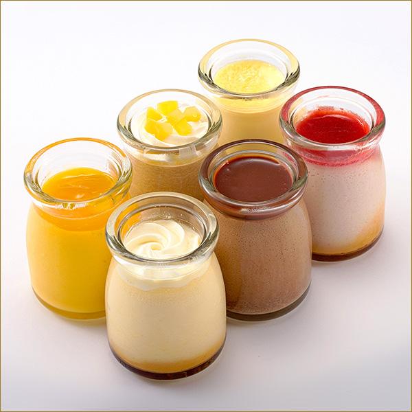 丰富 & 水果品种 6 种的布丁