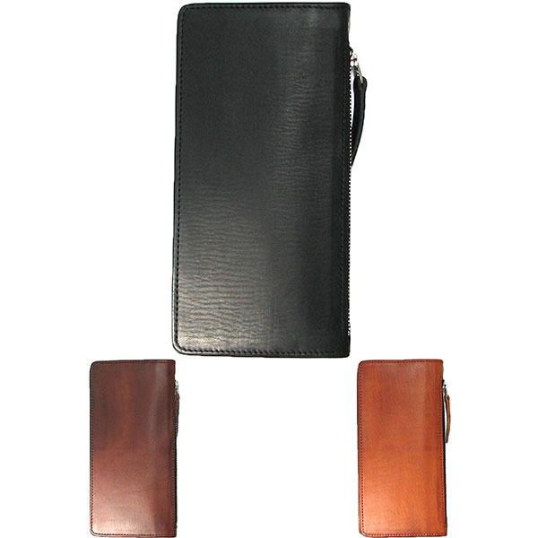b0cf9cbe6b58 長財布 革 ロング ウォレット イタリー テンダーロール レザー 大容量 カード12枚 オリジナルブランド