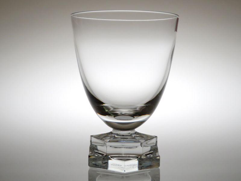 バカラ グラス ● アビス 重厚 クリスタル ワイン グラス 六角形 Abysse