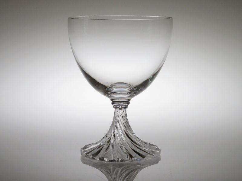 ラリック グラス ● ランブイエ ウォーターゴブレット クリスタル ねじれ ステム 13.5cm Rambouillet