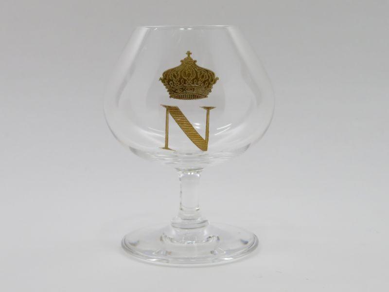 バカラ グラス ● ナポレオン ブランデー コニャック グラス Napoleon N Crown 金彩 王冠 クラウン Cognac
