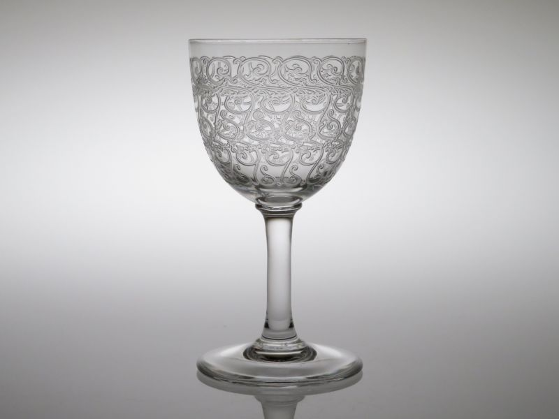 バカラ グラス ● コンブール ローハン ワイン グラス 10.5cm ヴィンテージ クリスタル Combourg