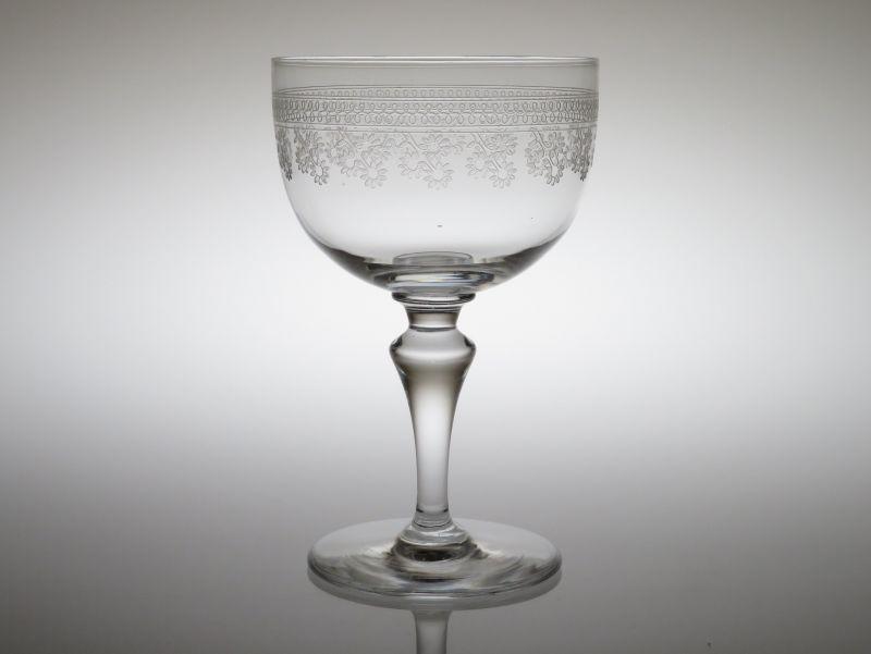 オールド バカラ グラス ● ポンパドール ウォーターゴブレット クリスタル アンティーク Pompador