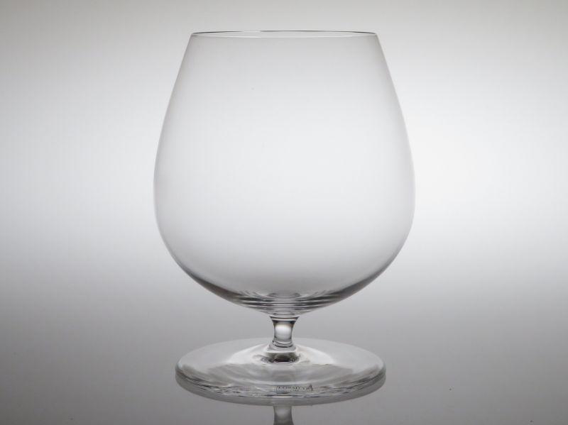 ロブマイヤー グラス ● バレリーナ ブランデー グラス ワイン カリ クリスタル シール付 シンプル 未使用 11cm Ballerina