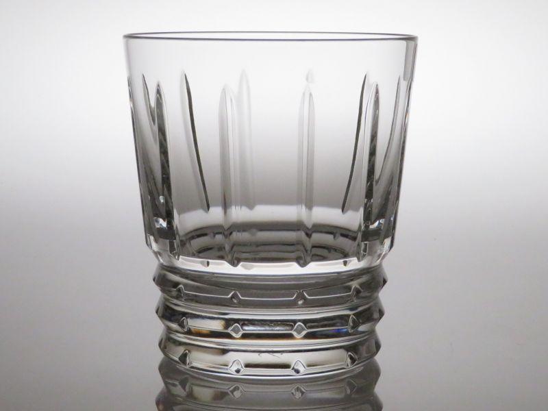 バカラ グラス ● アルルカン ロック グラス オールド ファッションド クリスタル Arlequin 未使用品