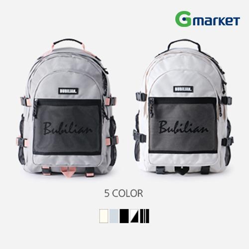 【Bubilian】Bubilian 3D バックパック/Bubilian Two Much 3D Backpack/リュック/デイパック/バックパック/通学用/韓国ファッション/カジュアル/女子高生/通勤/高校生/通学/学生/女子高生/ストリートファッション【海外直送】