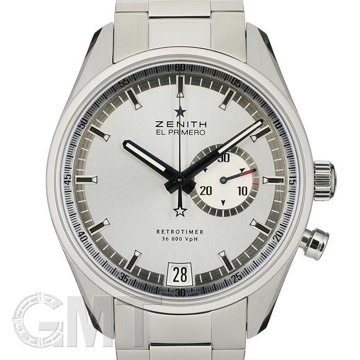 ゼニス エル・プリメロ レトロタイマー 03.2030.4055/01M2040 ZENITH EL PRIMERO 新品腕時計 メンズ 送料無料
