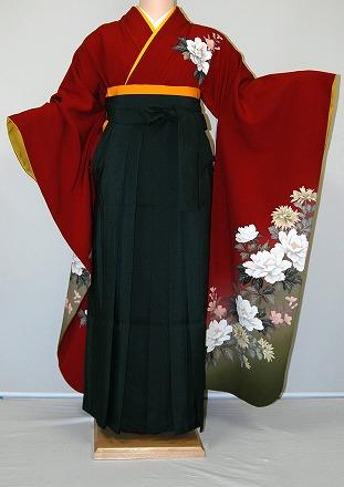 袴の着付け姿です