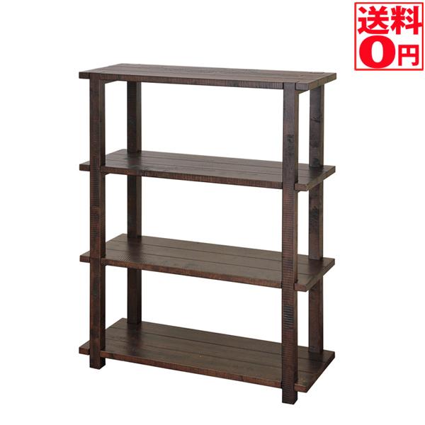 【送料無料】 Nosta Shelf ノスタ 4段シェルフ 幅80cm NS-6205【東北配送不可商品】