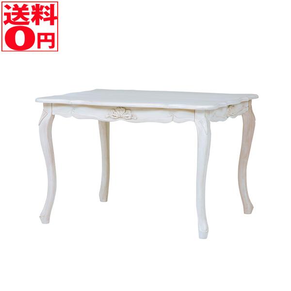 【送料無料】 ハンプトンシリーズ ダイニングテーブル(アンティークホワイト) RKT-1691AW