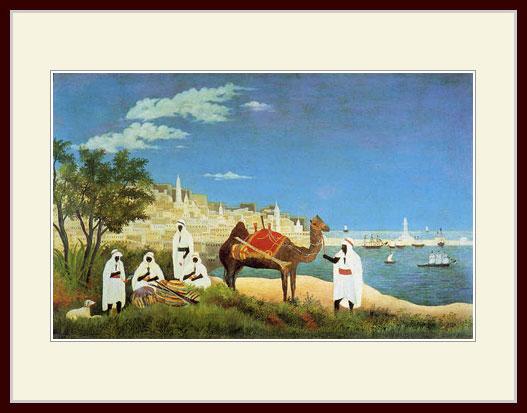 ルソー・「アルジェの港」