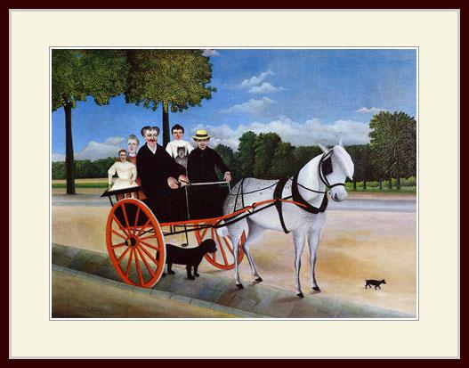 ルソー・「ジュニエ爺さんの馬車」