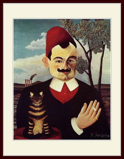 ルソー・「ピエール・ロティの肖像」
