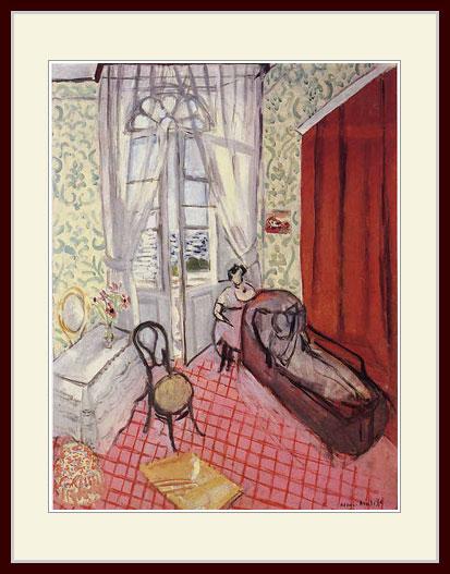 マティス・「長椅子の二人の女」