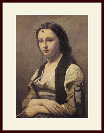 コロー・「真珠の女」