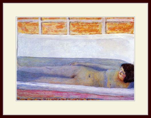 ボナール・「入浴」