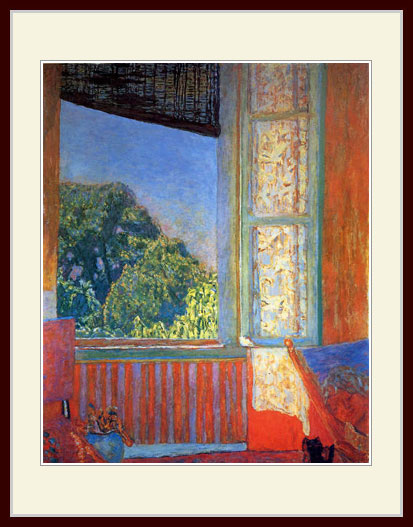 ボナール・「開かれた窓」