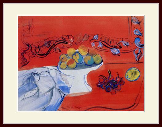 デュフィ・「果物の鉢」