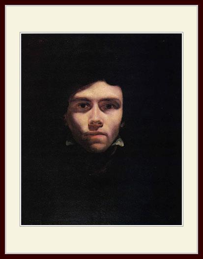 ジェリコー・「ドラクロワの肖像」