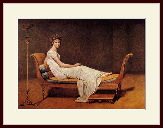 ダヴィッド・「ェカミエ夫人の肖像」
