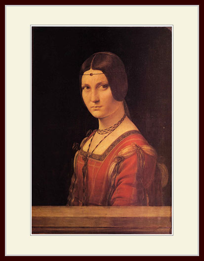 ダヴィンチ・「婦人の肖像」
