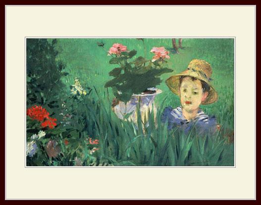 プリキャンバス複製画 デッサン額仕上げ 6号相当サイズ 公式通販 Edouard マネ 送料無料カード決済可能 Manet