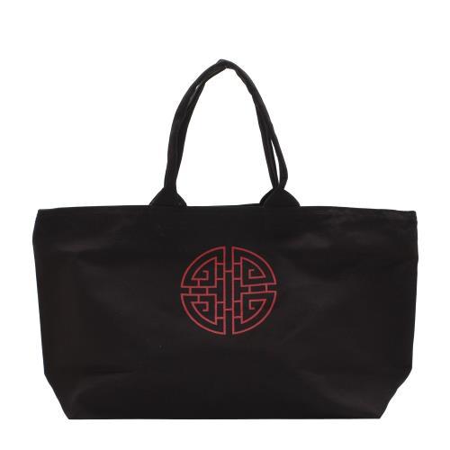 エトランジェディコスタリカプロデュース 買物 grand musee ギフト トートバッグ ブラック プレゼント Chinois グランミュゼ 記念品 国産品 公式通販サイト