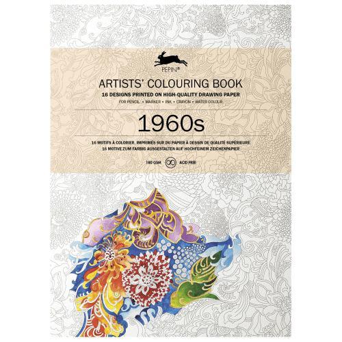 ペピン PEPIN 日本限定 オランダの出版社が販売する大人の塗り絵 カラーリングブック プレゼント 1960s キャンペーンもお見逃しなく ぬりえ ギフト