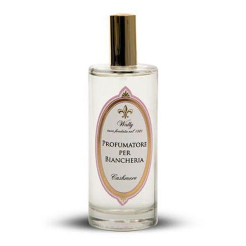 フィレンツェ発のフレグランスブランド 品質保証 Wally ウォーリー リネンウォーター100ml ギフト 芳香剤 プレゼント メーカー公式ショップ カシミア
