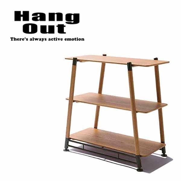 HangOut(ハングアウト) ポール フィールド ラック 3段 コンパクト 持ち運び 収納 アウトドア キャンプ グッズ POL-FR3