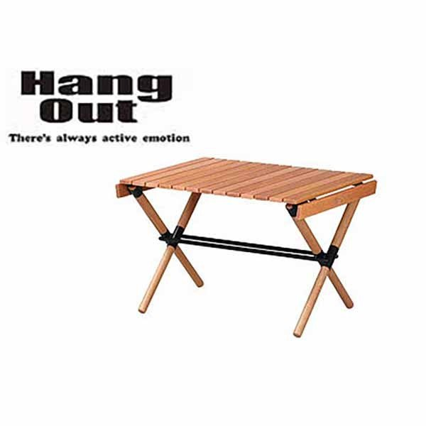 HangOut(ハングアウト) ポール ローテーブル POL-T60 折り畳み 木製 ウッド テーブル コンパクト 持ち運び 収納 アウトドア キャンプ グッズ【オススメ商品】