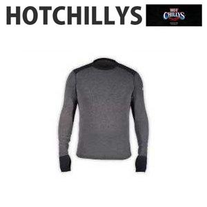 HOT CHILLYS (ホットチリーズ) メリノウール クルーネック HC8453 メンズ ベースレイヤー トップス シャツ インナー 冬 スキー スノボ アウトドア 雪山