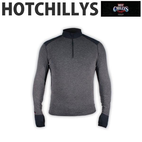 HOT CHILLYS (ホットチリーズ) メリノウール ジップアップ HC8455 メンズ ベースレイヤー トップス シャツ インナー 冬 スキー スノボ アウトドア 雪山