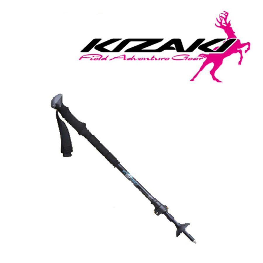 98~130cm KIZAKI キザキ トレッキング ポール I型 カメラ 一脚対応 カーボン KTAE-1001C