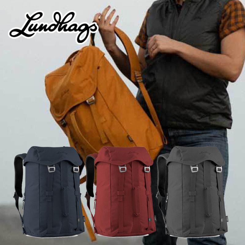 Lundhags 北欧生まれの 高機能 防水 バックパック Artut 14 リュック デイパック 14L 丈夫で軽量 環境にやさしい リサイクル素材 バッグ メンズ レディース ビジネス アウトドア キャンプ 旅行 登山 通勤 通学 バイク ルンドハグス
