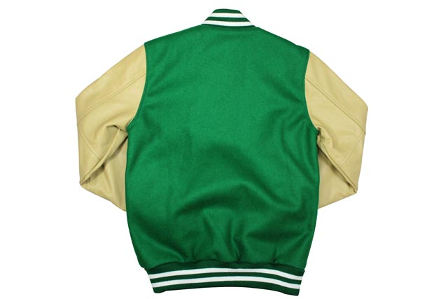 save off 9739c 1f06f MITCHELL NESS NFL VARSITY JACKET (New York Jets: GREEN) Mitchell & ness and  Stadium jacket and Stellan / Green