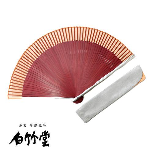 白竹堂 フルート扇子セット 全3種類 女性用 母の日