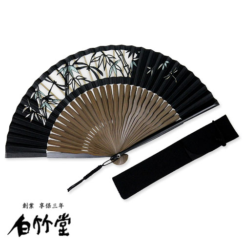 白竹堂 切絵京扇子セット 全5種類 男性用 父の日