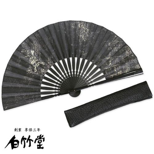 白竹堂×Roen レザースカルセット扇子セット